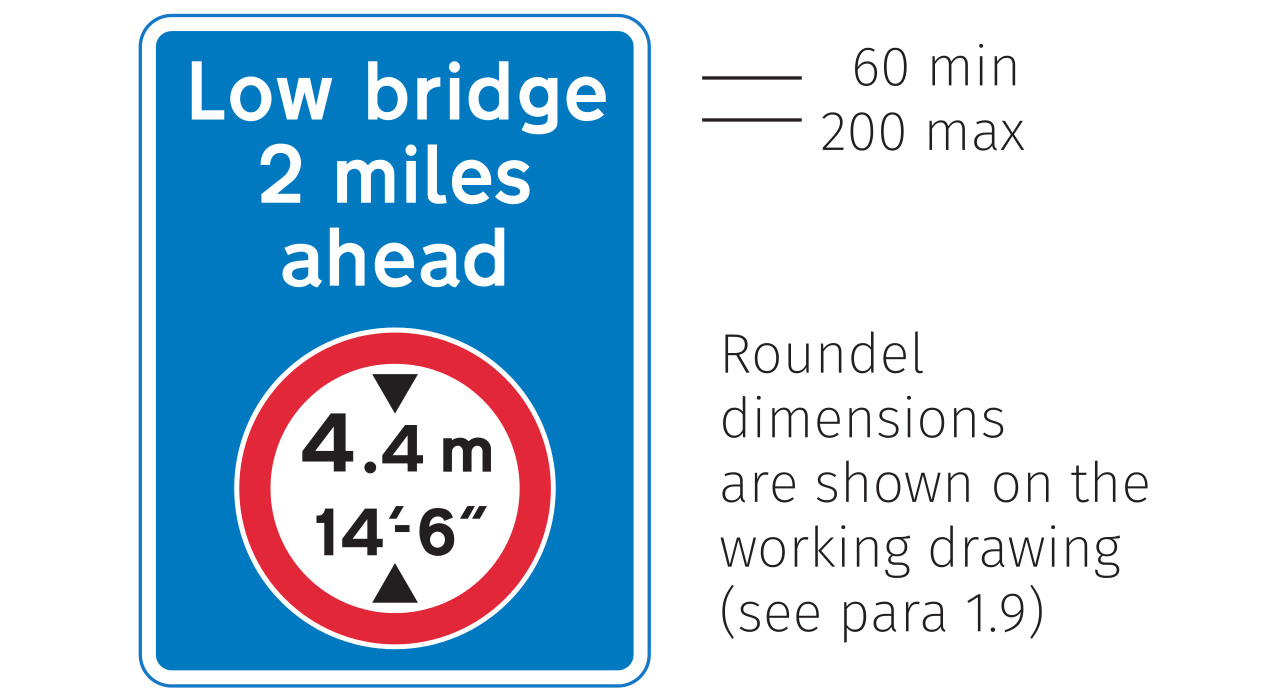 traffic signs manual chapter 6
