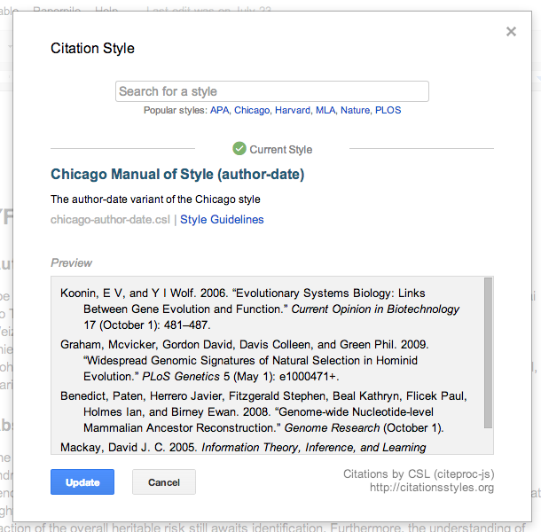 chicago manual of style pdf