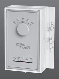 white rodgers thermostat manual battery replacement
