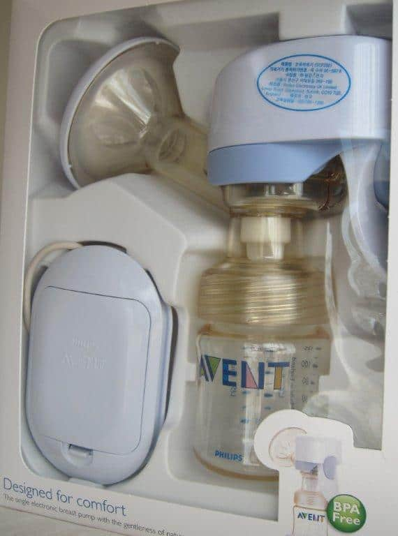 avent single manual breast pump