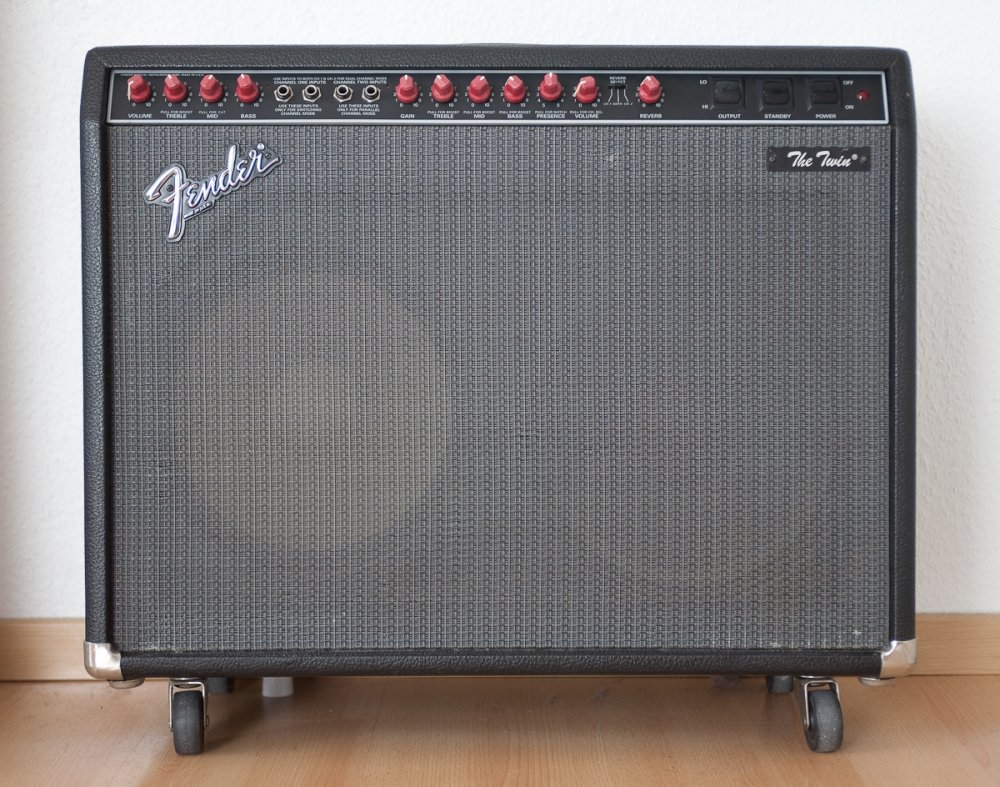 fender the twin red knob manual