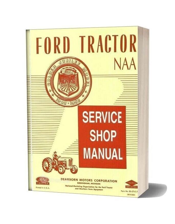 ford naa service manual download